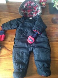 Ted Baker snow suit 3-6months