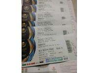 England VS Australia Edgbaston ICC Champions Trophy Eric Hollies Stand 6 Tickets All Seated Togethor