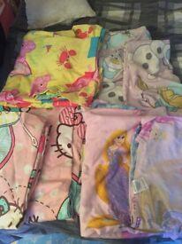 Cotbed mattress and duvet sets