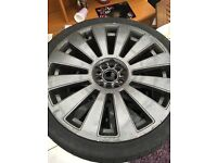 19' Audi A4 alloy wheels