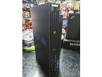 Sony Playstation 2 Black Standard Console Core Unit