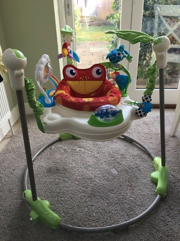 3ee8e8f66 Fisher-Price K6070 Rainforest Jumperoo - Used
