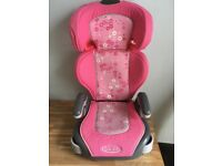 Graco high backed booster car seat