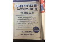 UNIT TO LET IN AVONMOUTH