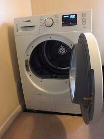 Fantastic Digital Samsung Condenser Tumble Dryer. A++ energy. Anti-crease feature