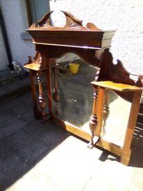 Large antique mirror Price reduced