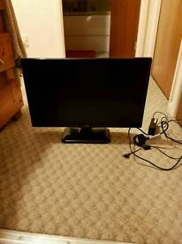 LG 19inch LCD full HD TV built in freeview