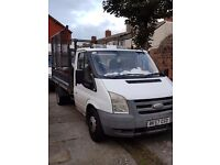 2007 Ford Transit twin wheelbase caged Tipper