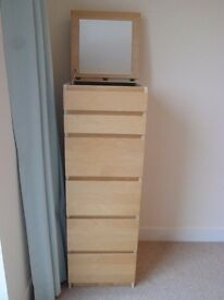 Chest of 6 drawers - Ikea Malm Ramge