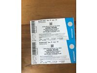 2 tickets for Lionel Richie perth