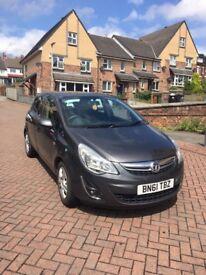 Vauxhall Corsa 1.3 CDTi ecoFLEX 16v Exclusive 5dr cheap insurance £30 a year tax low mileage