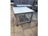 Aluminium heavy duty work table