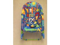 Fisher Price Colourful Infant-Toddler Rocker (also converts into chair!)