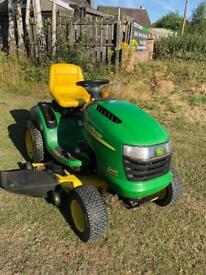 "John Deere Ride-On Mower 20HP 48""Side Eject"