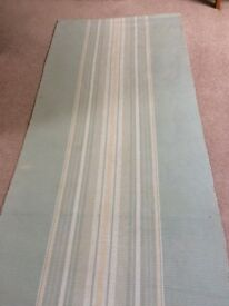 Laura Ashley light green carpet runner