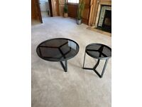 Made Aula coffee table and side table