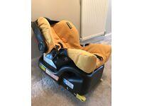 Grace car seat and Isofix base