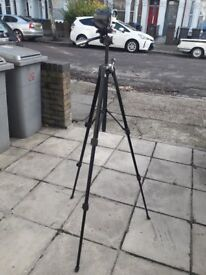 BENRO T600EX LOCK FREE - PHOTO & VIDEO TRIPOD - BLACK