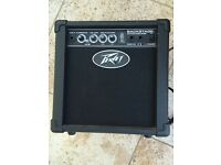 2 Guitar practice amps- BB Blaster 10W / Peavey Backstage in working order: £15 each
