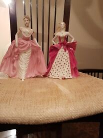Hi i am selling Coalport figurines