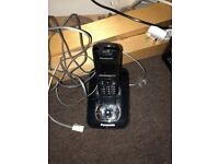 Panasonic cordless telephone KX-TG8421E. With answering machine, speakerphone, good condition