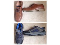 2 shoes brogue burton and waterproof shoes