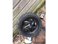 gilera front wheel tyre Nd disk