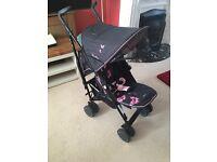 Silvercross Pop Butterflies Pushchair/ Stroller