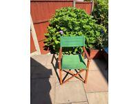 Director garden chairs