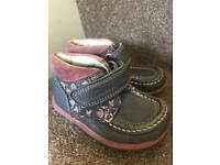 Girls clarks ankle boots size5f