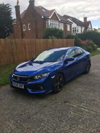 Honda Civic 2019 - very low mileage, in exceptional condition cat N