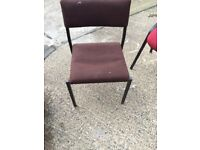 Office, Event, School, Community hall type chairs (open to offers quick sale)