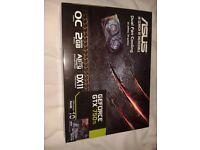 ASUS GeForce GTX 750 TI Graphics card. Gaming graphics card.