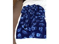 Boys Football Dressing Gown - Age 9-10 years