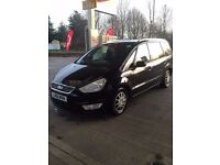 2011 Ford Galaxy Black. PCO til OCT 2017. Private Hire/UBER