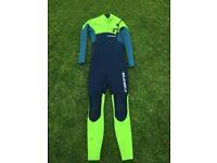 Wetsuit C-skins wired 5/4mm XS men's or XXXL kids junior - top of the range