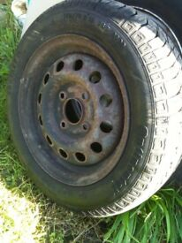 FORD KA '03 ONWARDS SPARE TYRE