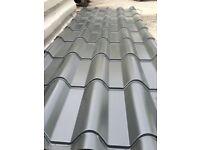 Tile Effect Roofing Sheets - Versatile 1000 - 0.7/0.5mm metal tile effect sheets