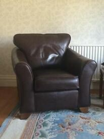 Leather Armchair (M&S)