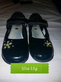 Girls Clark school shoes