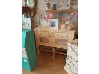 Stunning shabby chic meets modern ooak sideboard