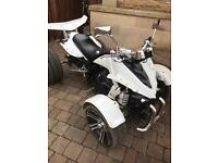 Spy racing F1 quad bike