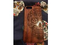 iPhone 6 phone case Wooden Carved