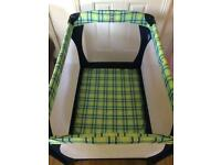 Mothercare Travel cot with extra mattress