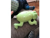 Summer Frog Lullaby light projector and music