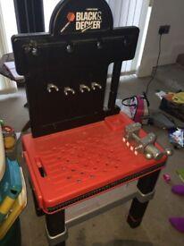 Smoby Black & Decker workbench