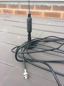 Taxi Delta radio whip roof antenna aerial - 5m cable