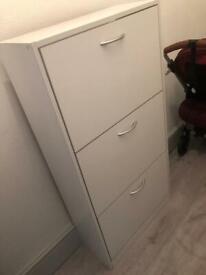 3 Tier Shoe Cabinet