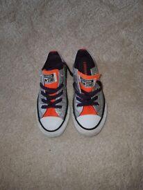 Silver converse size 11
