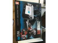 Nintendo Wii U Limited Edition Zombi U Premium pack 32GB + 4 Games